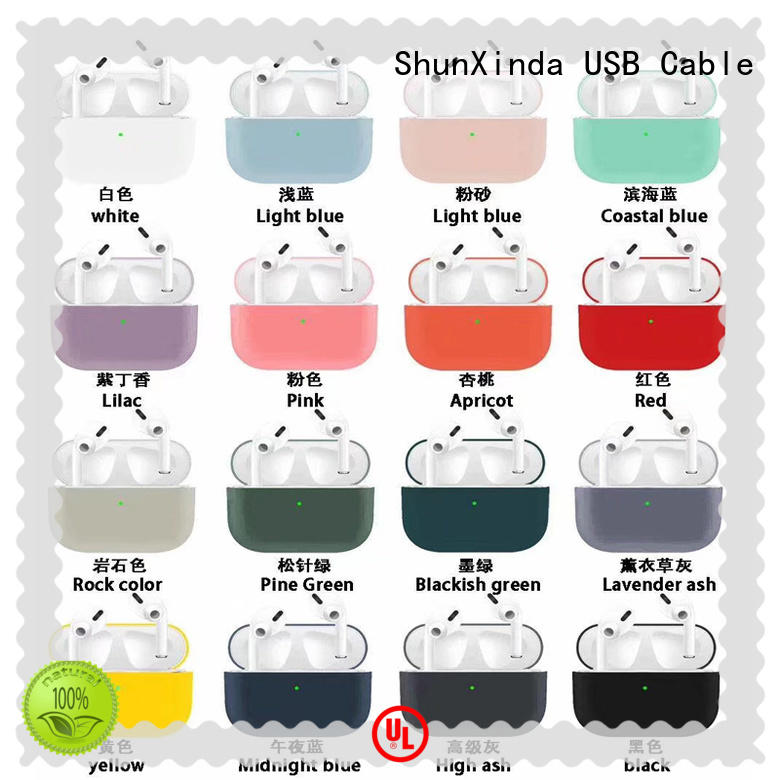 ShunXinda Best silicone airpods case company for earphone