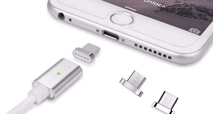 ShunXinda -Magnetic Charging Cable: New Smartphone Charging Technology