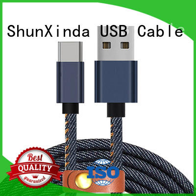 type c usb cable mobile ShunXinda Brand type C to type C