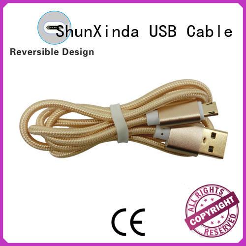 Wholesale durable long micro usb cable galaxy ShunXinda Brand