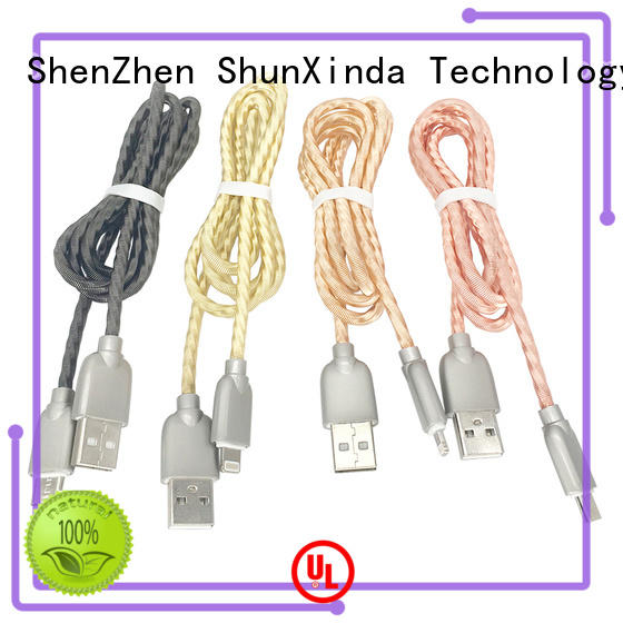 ShunXinda Latest apple lightning to usb cable factory for home