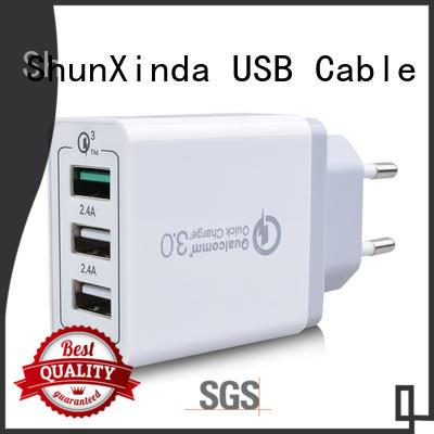 ShunXinda online usb fast charger manufacturer for car