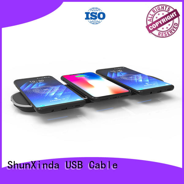 wireless car iphone OEM wireless charging for mobile phones ShunXinda