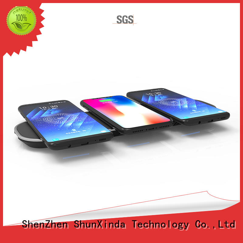 ShunXinda iphone wireless cell phone charger for sale for car