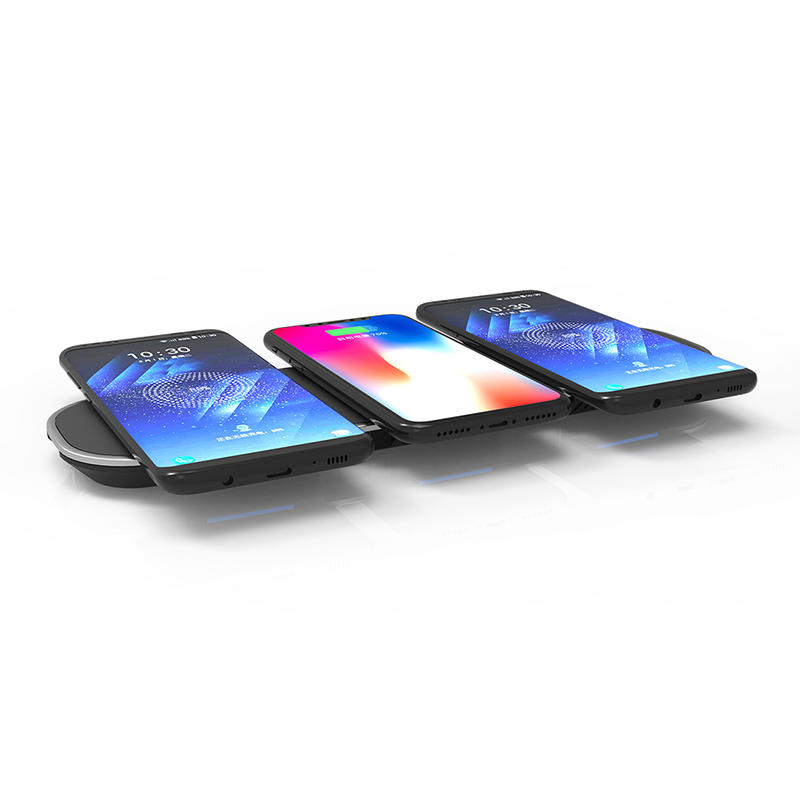 OEM ODM Qi wireless charger 2 usb charge fast charge wireless charger SXD302