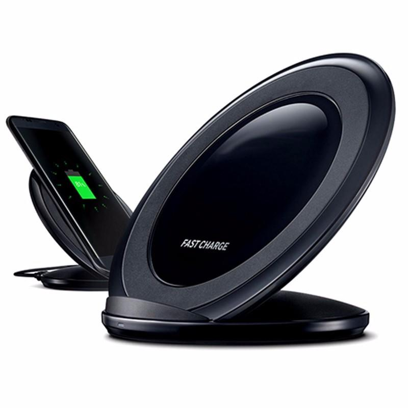 Original Qi Stand Wireless fast Charger For Samsung Galaxy S7 S8 SXD303