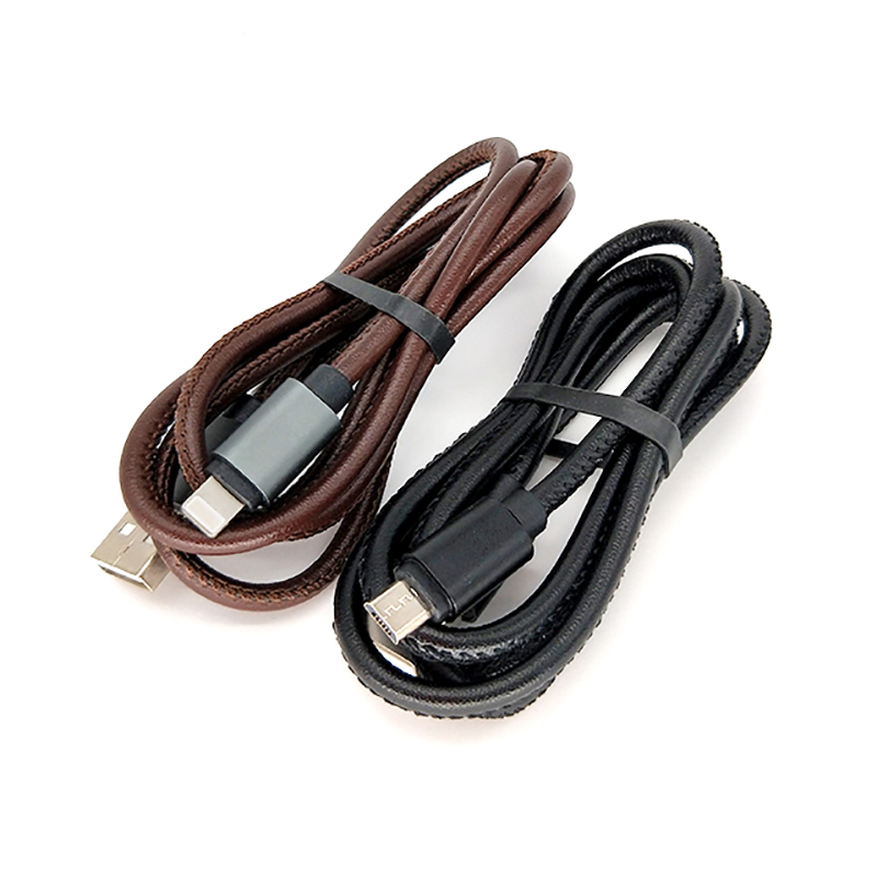 ShunXinda -Best Iphone Charger Cord Fast Charging Pu Leather 8 Pin Usb Data Sync Charging-1