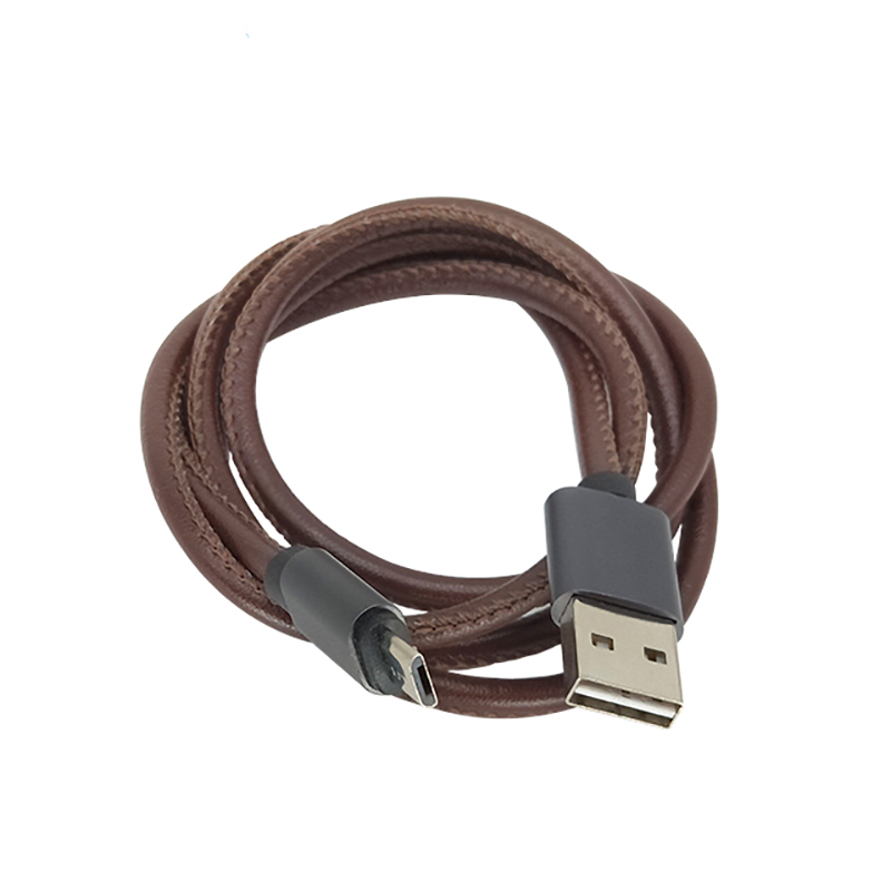 ShunXinda -PU leather iphone cord with good quality in China-3