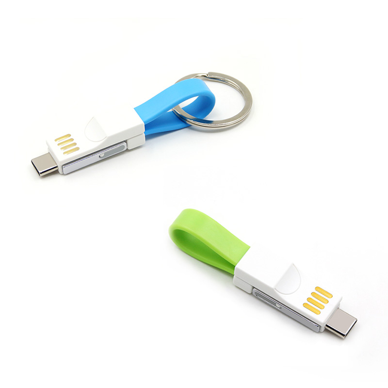 ShunXinda -Promotional Gift 3 In 1 Keychain Usb Charging And Data Magnetic Usb Cable-5