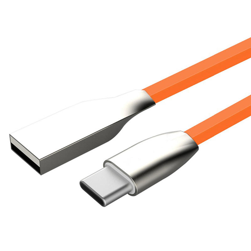 Zinc alloy cable Diamond shape 3D  charger type C high speed usb cable  SXD006