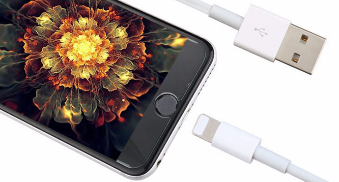 ShunXinda -Whilte Genuine Apple Lightning Cable for iphone 6-2