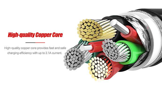 customized cable micro usb nylon manufacturers for car-3