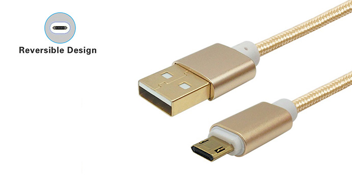 ShunXinda -reversible designed usb to micro usb cables-3
