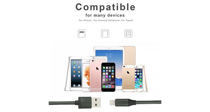 ShunXinda phone micro usb charging cable factory for car-5