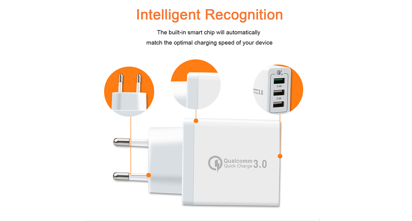 ShunXinda -Customized usb wall charger with multi port-1