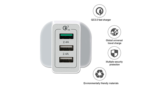 ShunXinda -Customized usb wall charger with multi port-2