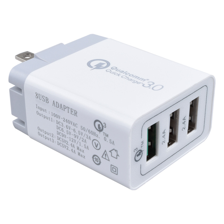 ShunXinda -Customized usb wall charger with multi port-7