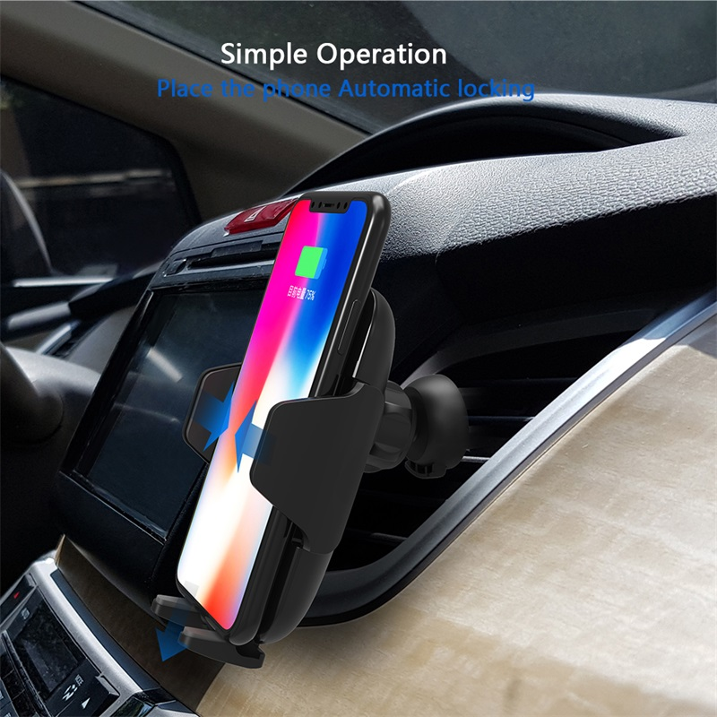 ShunXinda -Wireless mobile Car Charger and phone holder-6