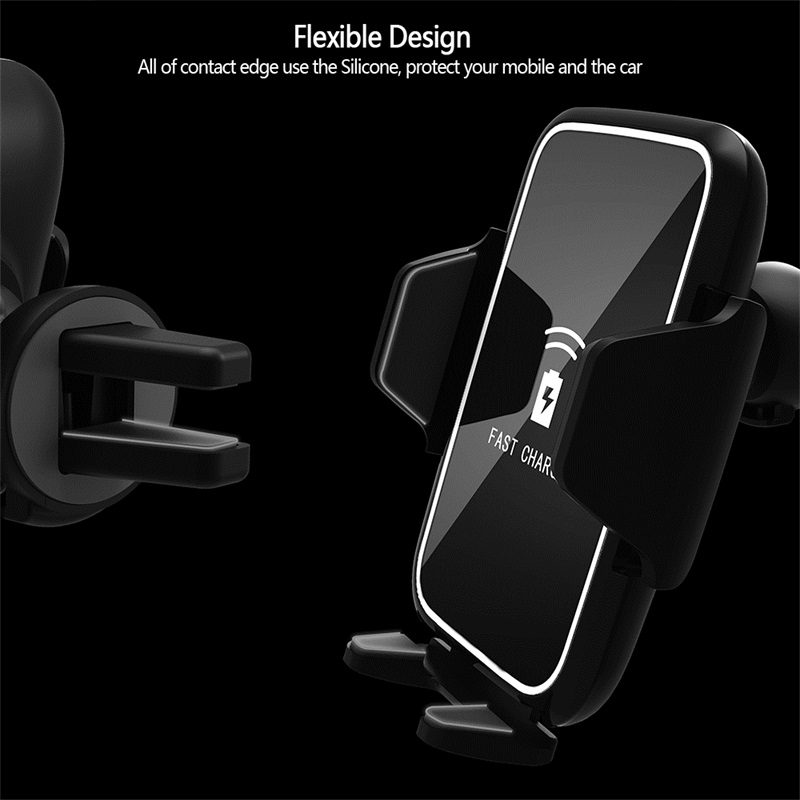 ShunXinda -Wireless mobile Car Charger and phone holder-7