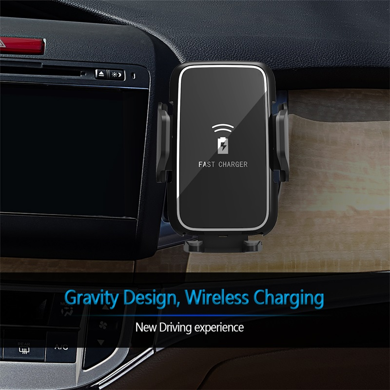 ShunXinda -Wireless mobile Car Charger and phone holder-8