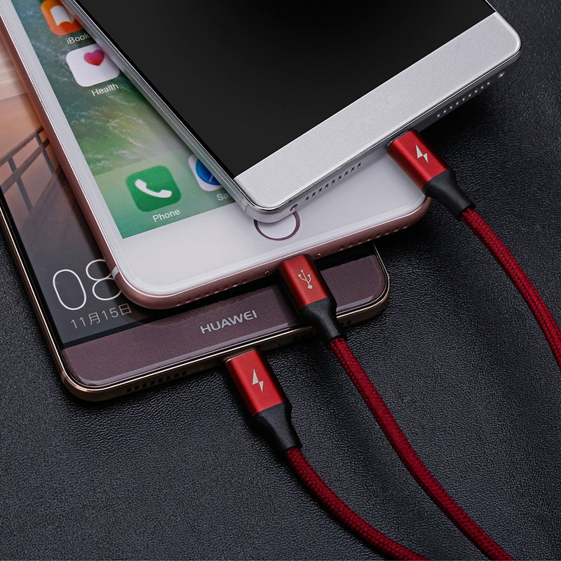 ShunXinda -High quality 3 In 1 Usb Cable with OEMODM services factory-9