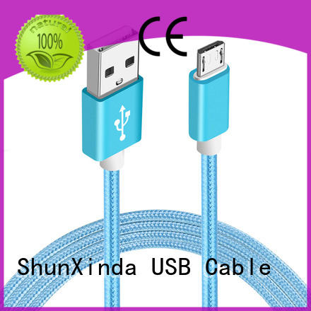 ShunXinda fast micro usb charging cable factory for indoor
