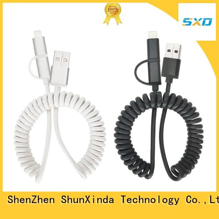 Custom usb charging cable android company for car