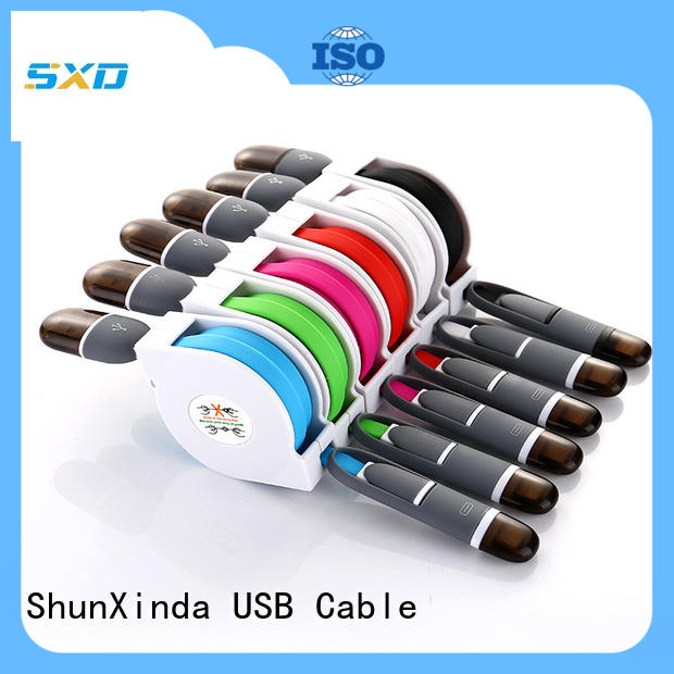 ShunXinda online charging cable supply for car