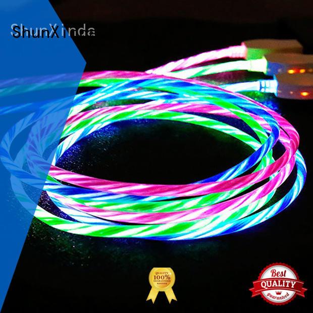iphone usb cable oem spring visible ShunXinda Brand