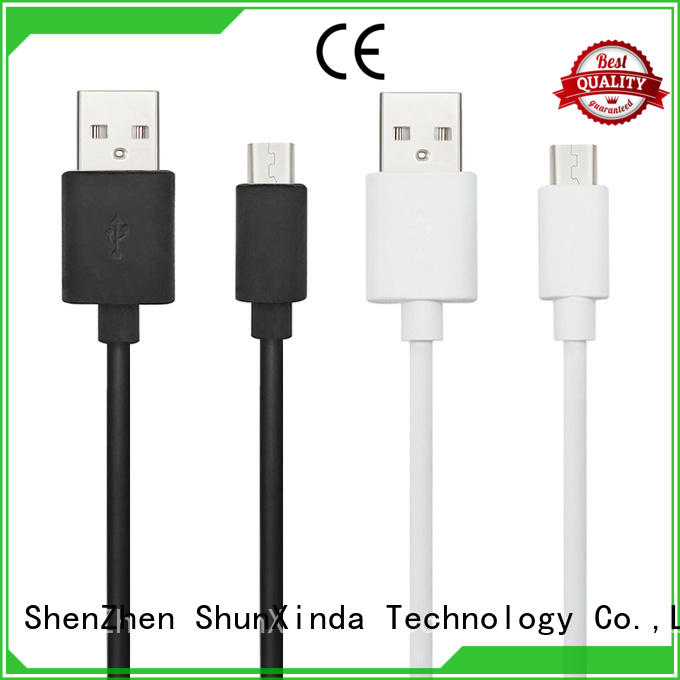usb fast degree ShunXinda Brand long micro usb cable