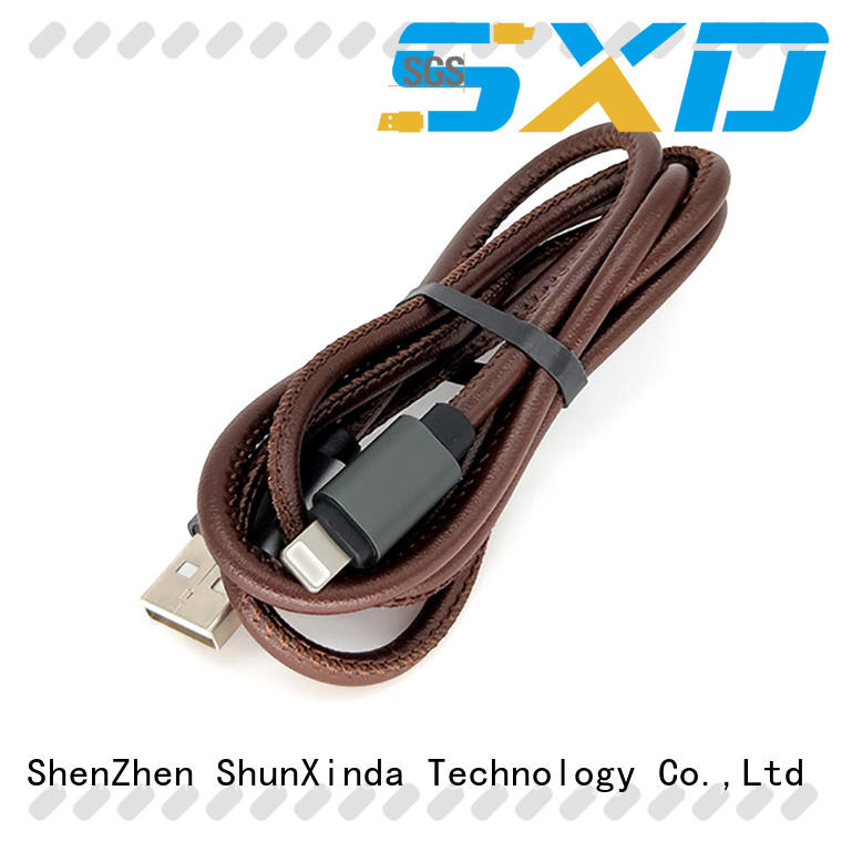 ShunXinda quality lightning usb cable factory for indoor