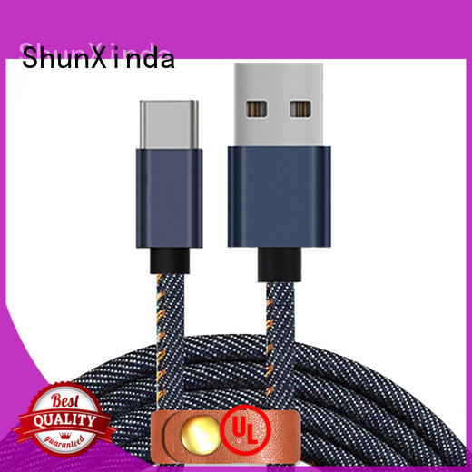 type c usb cable diamond ipad type C to type C ShunXinda Brand