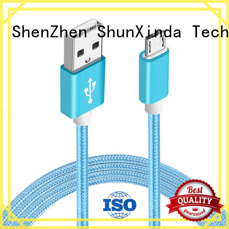 New cable usb micro usb leather manufacturers for car