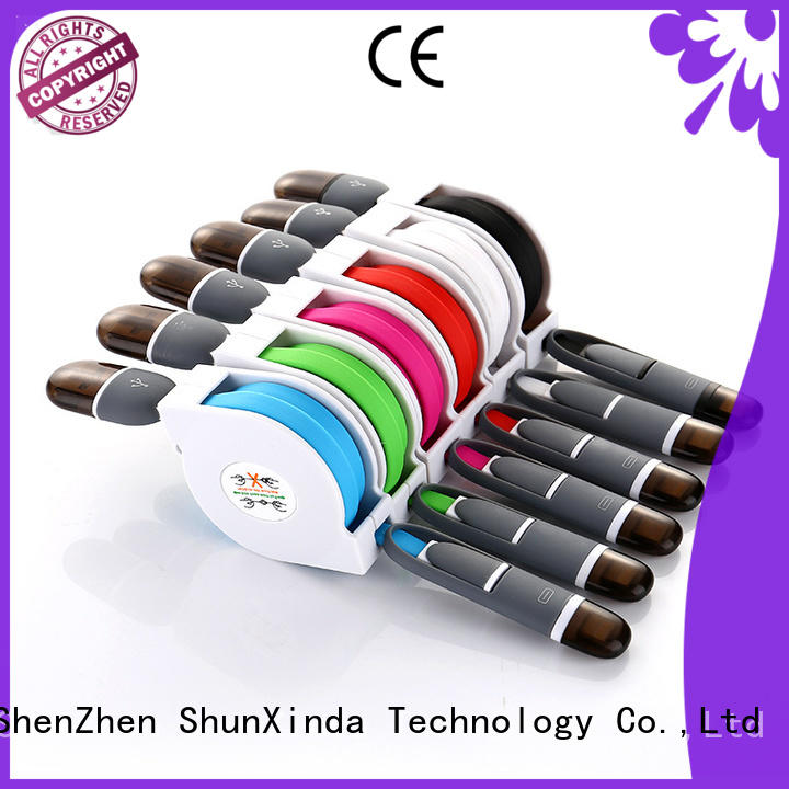 ShunXinda fast usb multi charger cable for business for home