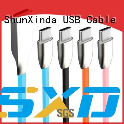 ShunXinda Brand ipad macbook custom type c usb cable