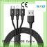 braided multi charger cable cable supply for indoor