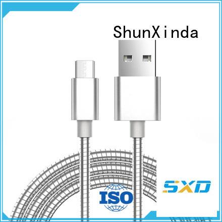 Wholesale original angle usb to micro usb ShunXinda Brand