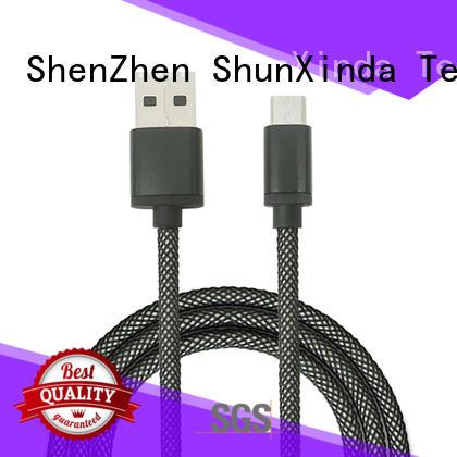 ShunXinda Brand car design custom long micro usb cable