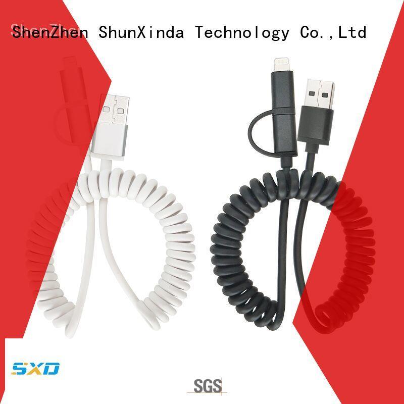 ShunXinda fast magnetic charging cable lanyard car