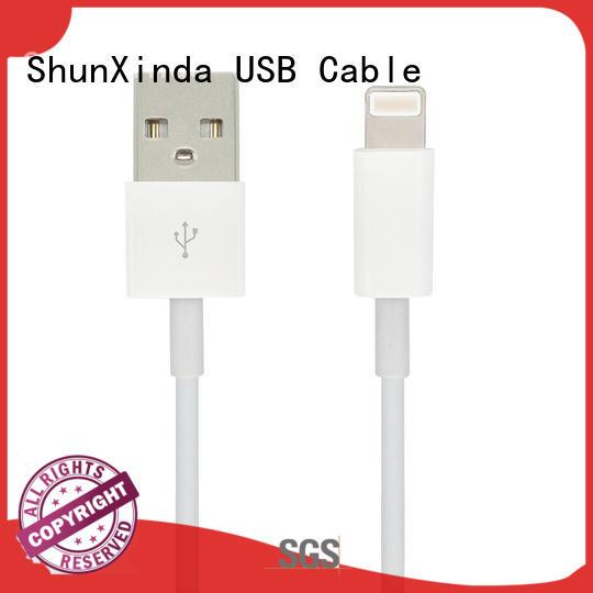 ShunXinda Brand mobile data usb data iphone usb cable oem