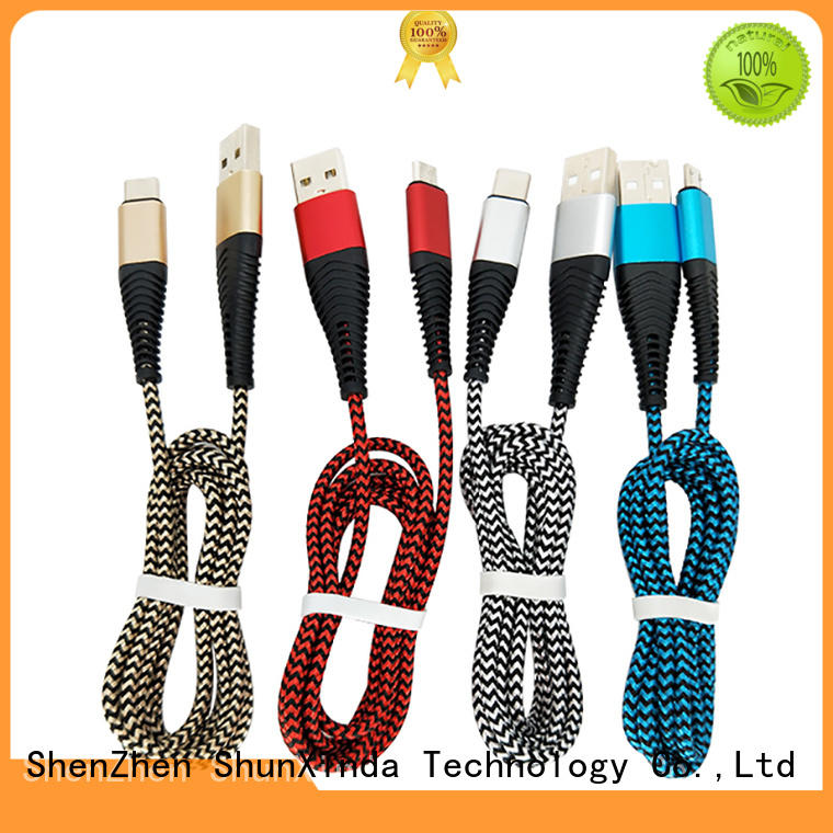 ShunXinda design apple charger cable supplier for car