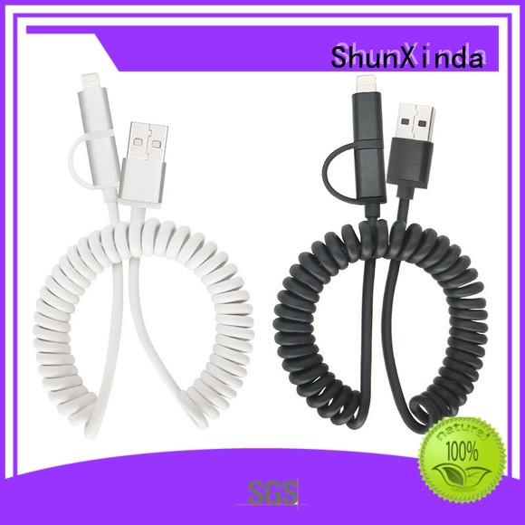 ShunXinda fast usb multi charger cable manufacturers for indoor