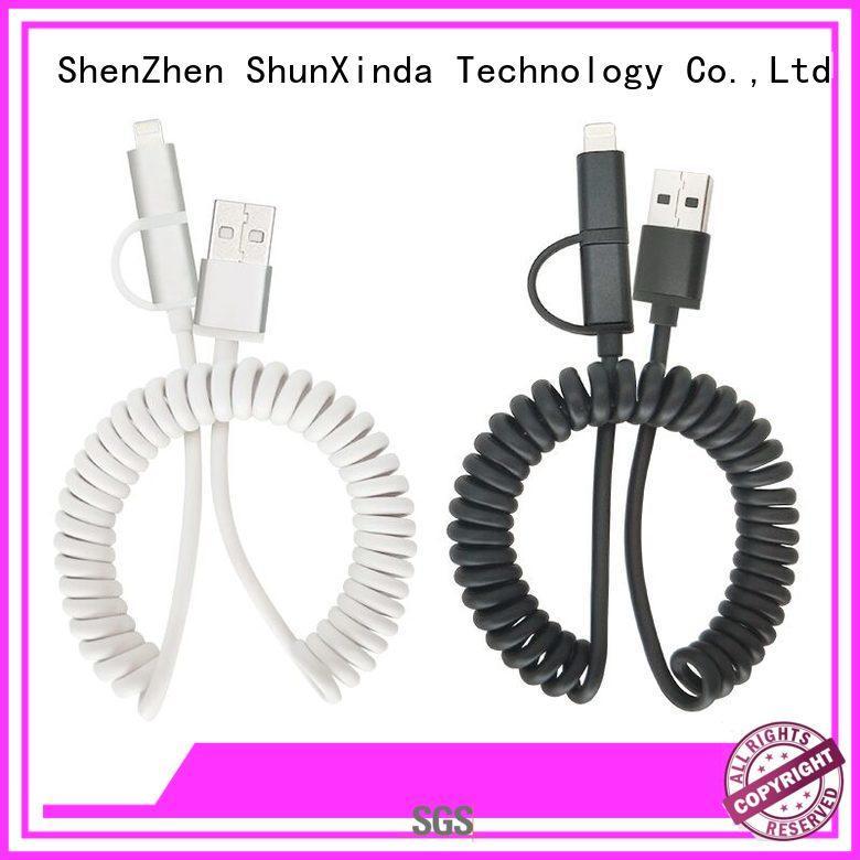 Wholesale pin sync multi charger cable ShunXinda Brand