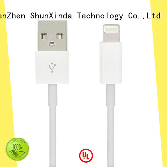 ShunXinda online apple charger cable factory for home