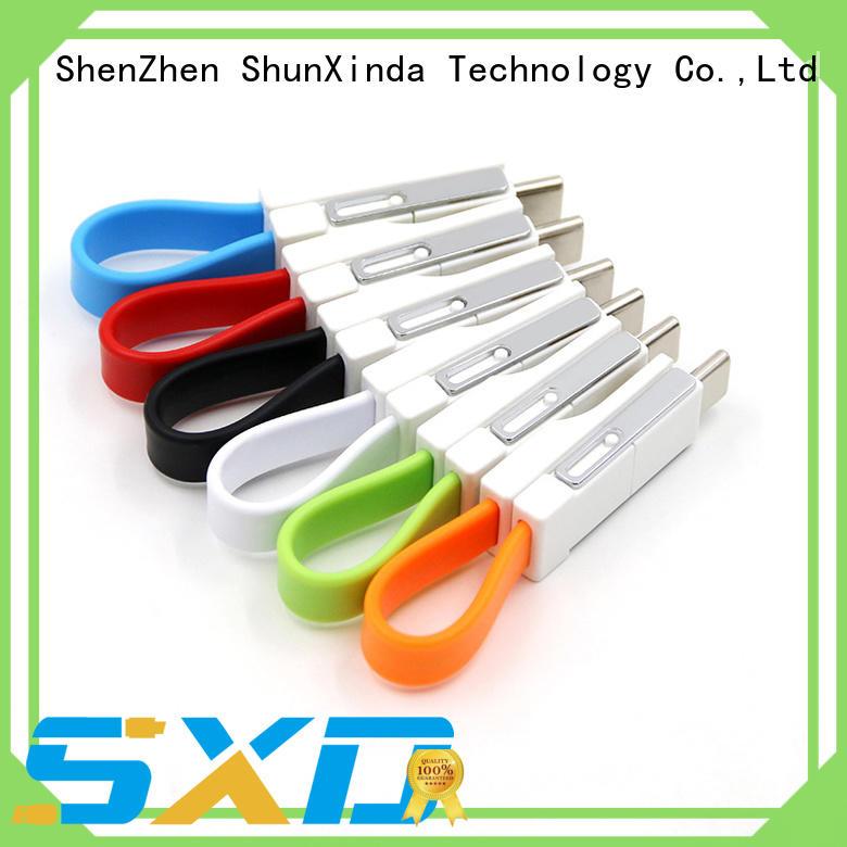 iphone popular ShunXinda Brand retractable charging cable factory