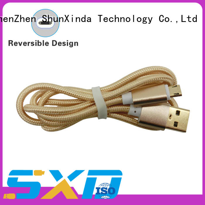 ShunXinda fast cable micro usb manufacturers for car