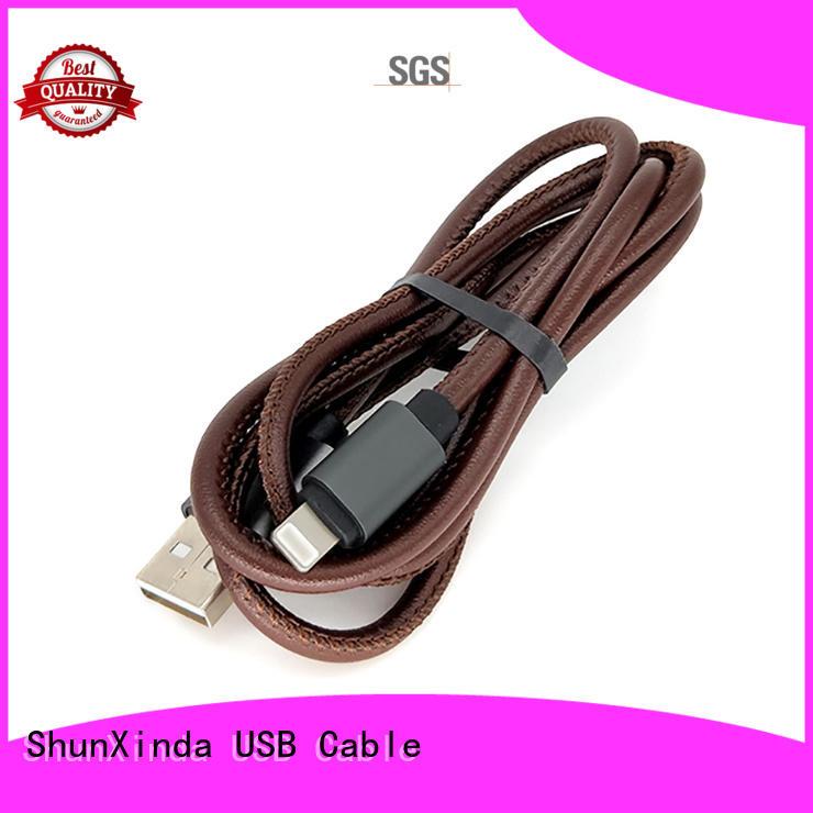 Custom charging usb iphone cord ShunXinda charger