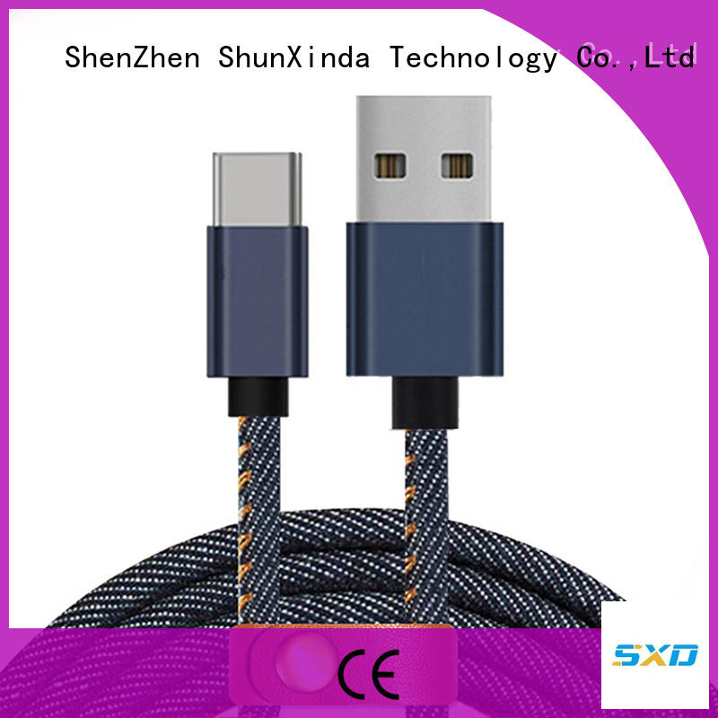 ShunXinda mobile apple usb c cable suppliers for indoor
