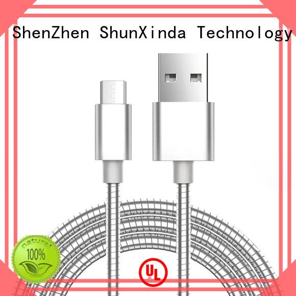 ShunXinda bank best micro usb cable factory for car