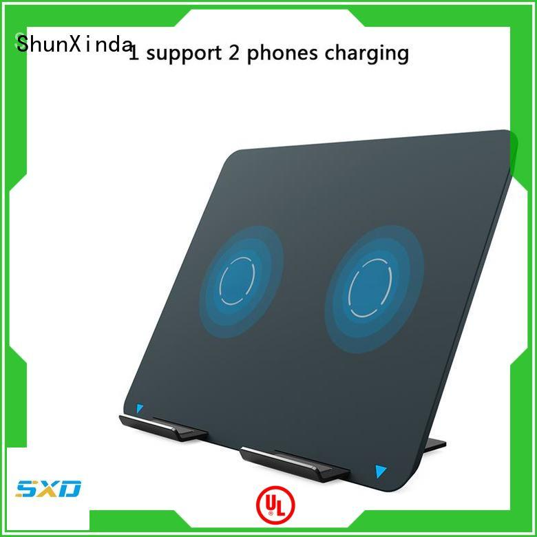 ShunXinda dual wireless fast charger manufacturers for home